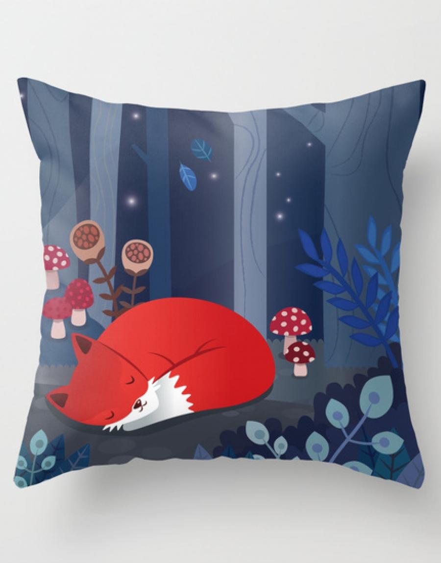 cuscino-volpe-illustrazione