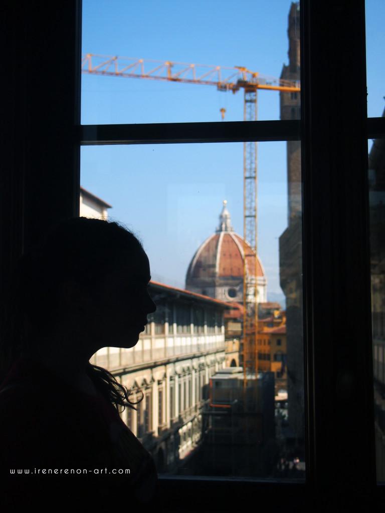 Firenze-Uffizi-Scorcio-Ombra