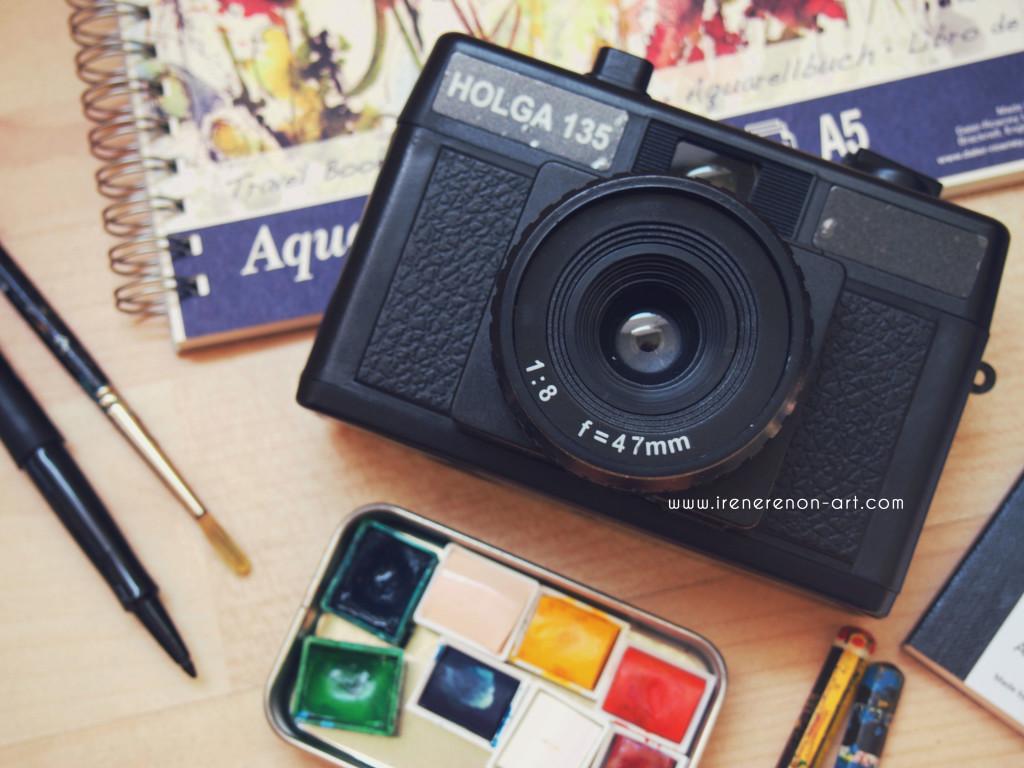 Vacanze-macchina-fotografica-aquerelli