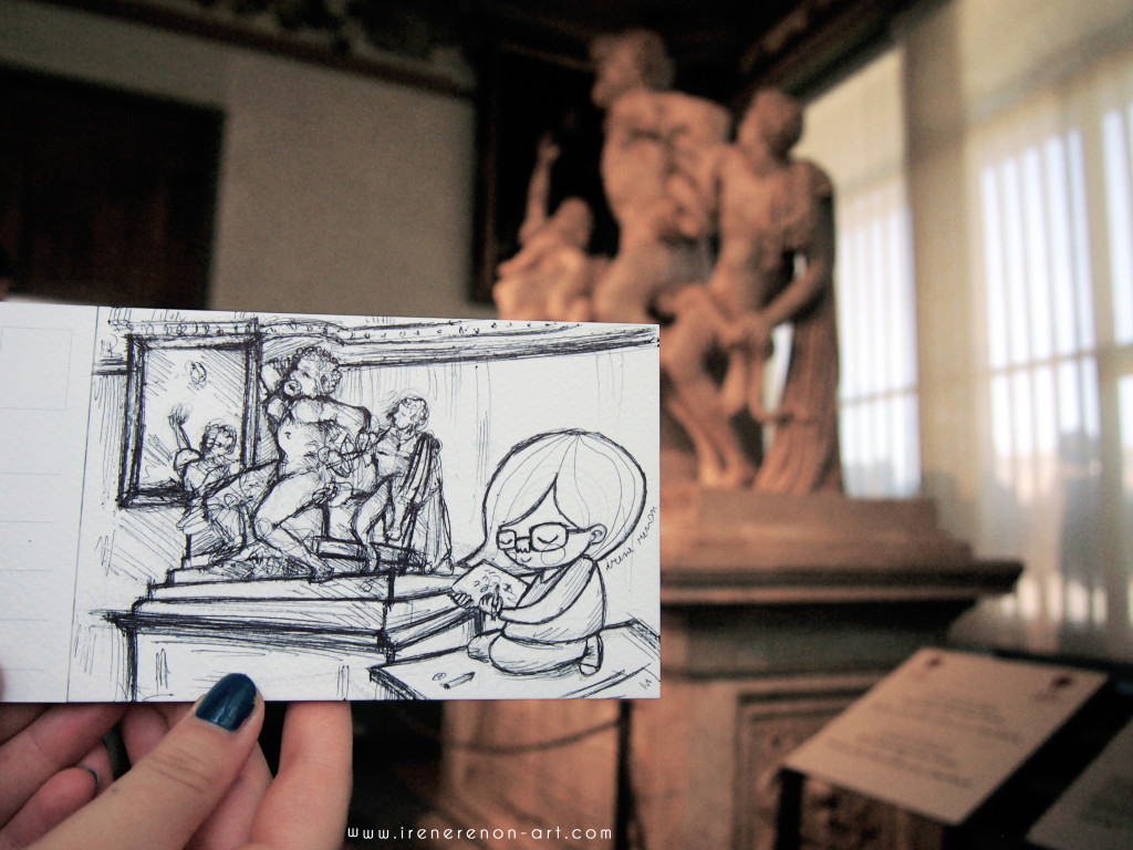 sketchbook-laoconte-uffizi