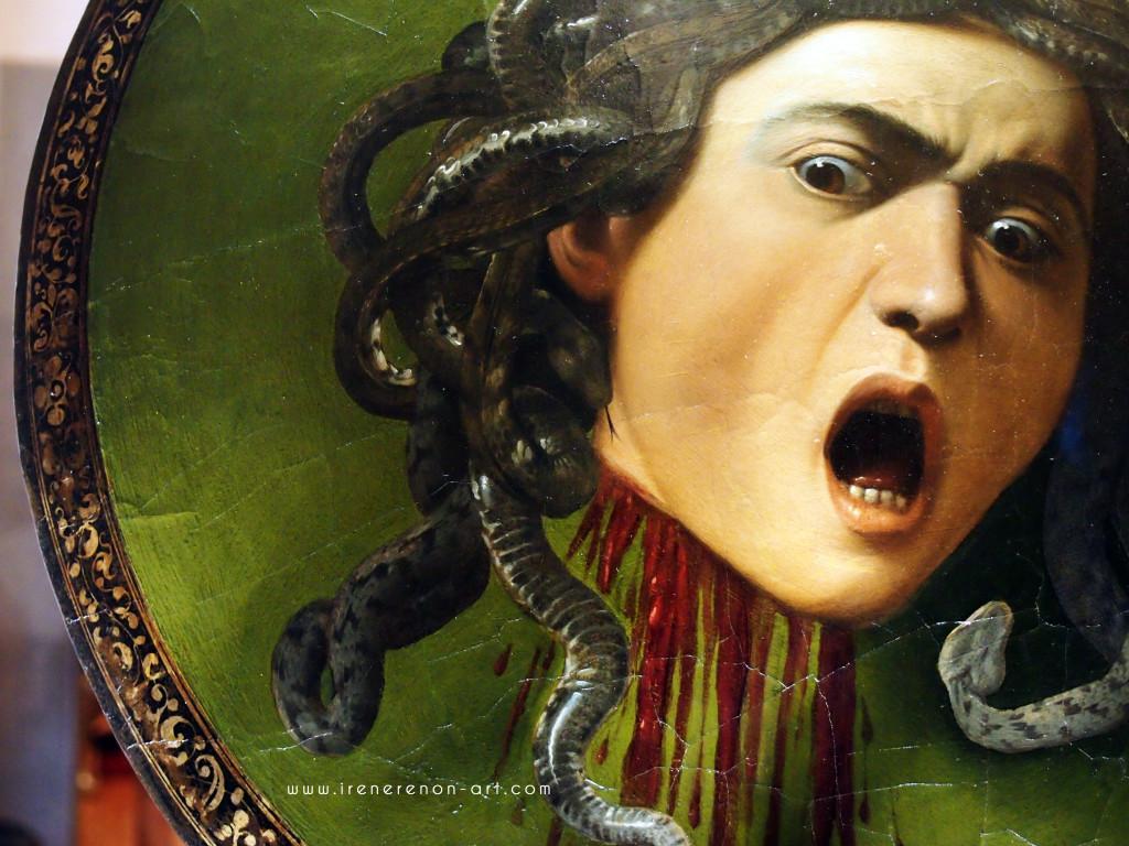Medusa-caravaggio-uffizi