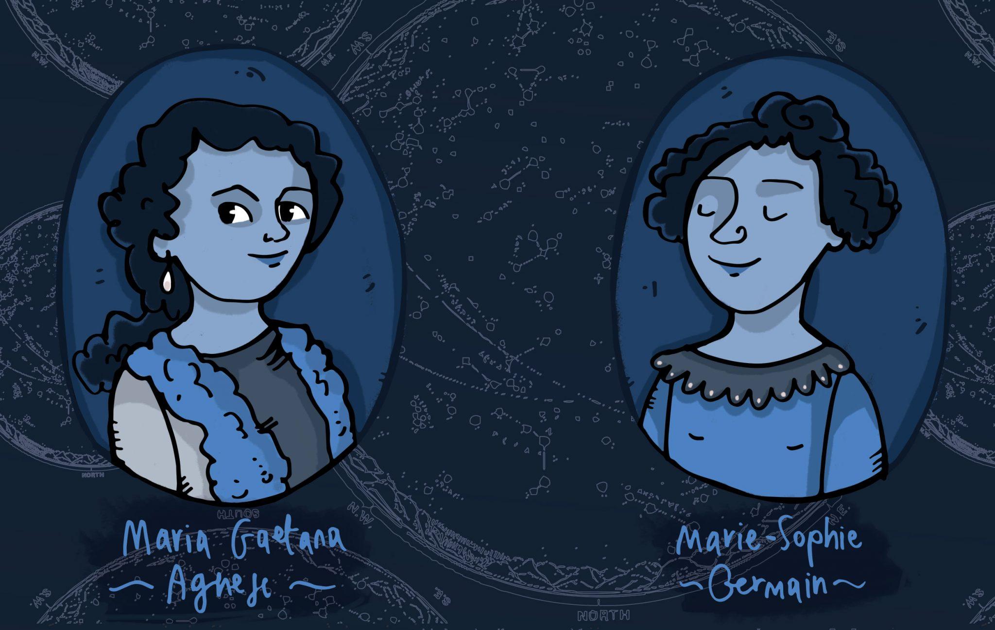 Maria-Gaetana-Agnesi-Marie-Sophie-Germain