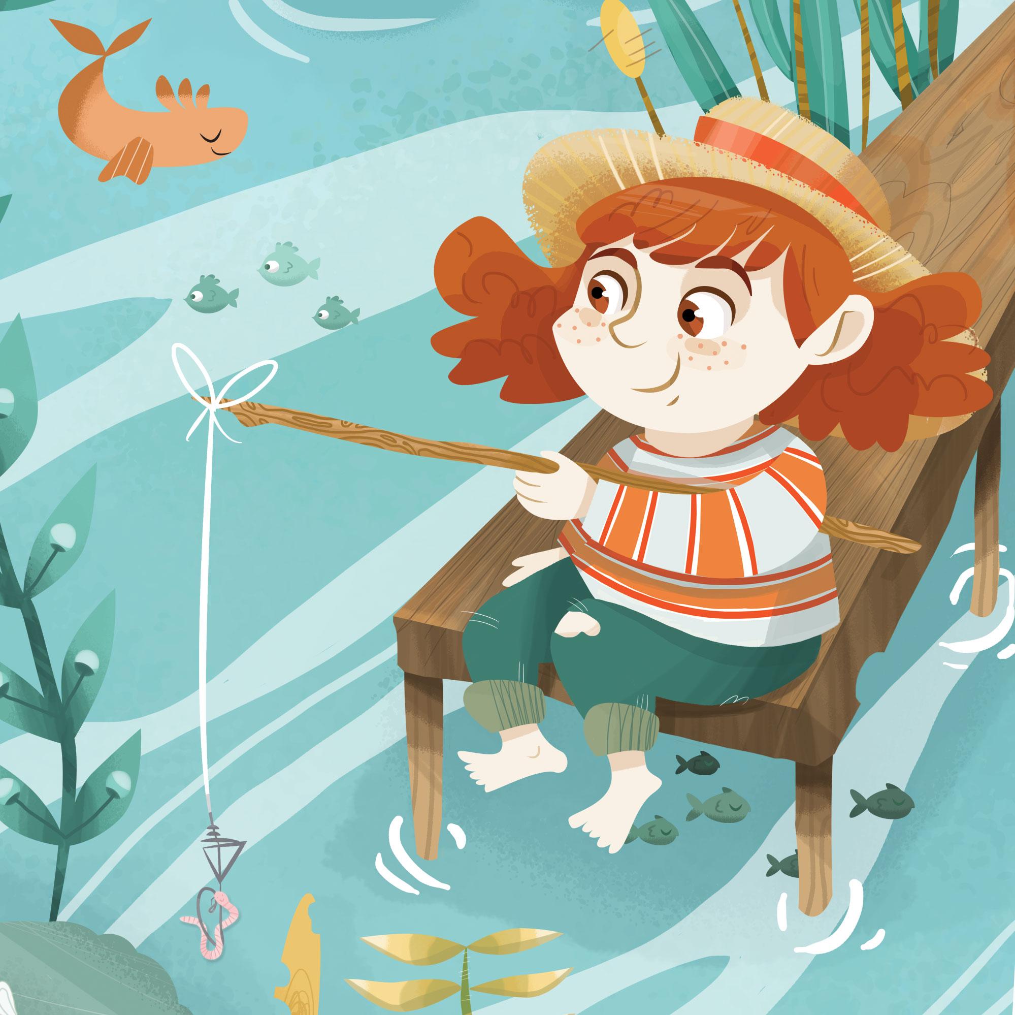 bambina-a-pesca-illustrazione