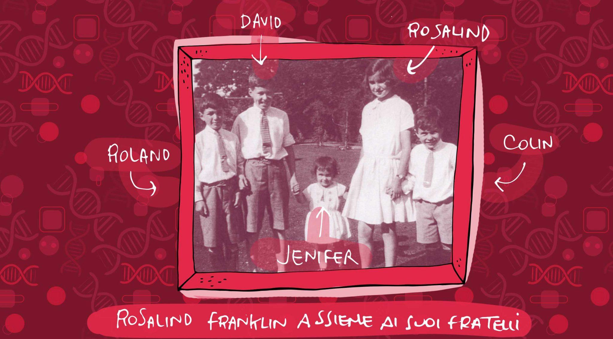 Rosalind-Franklin-famiglia
