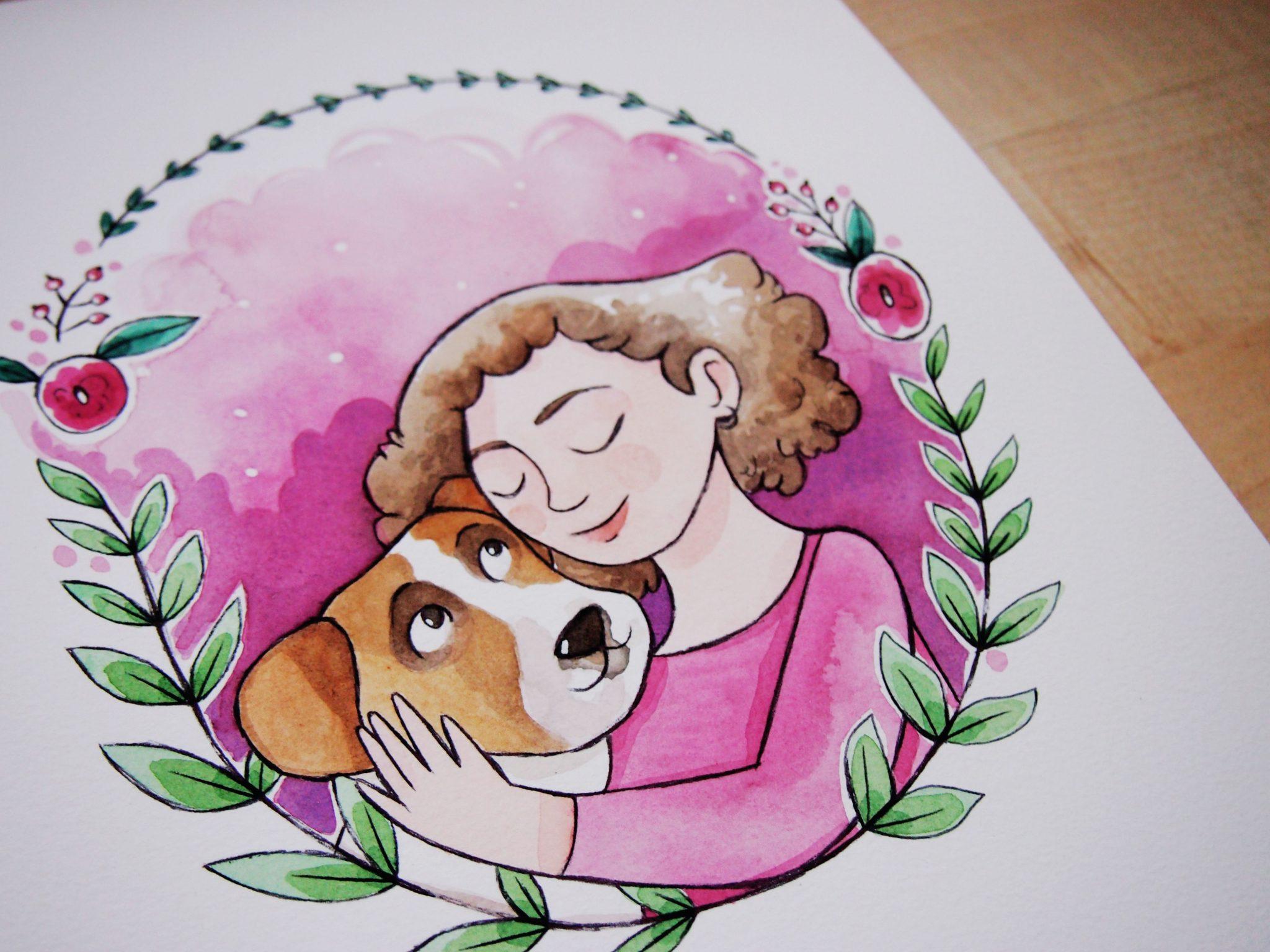 Ritratti personalizzati e illustrati