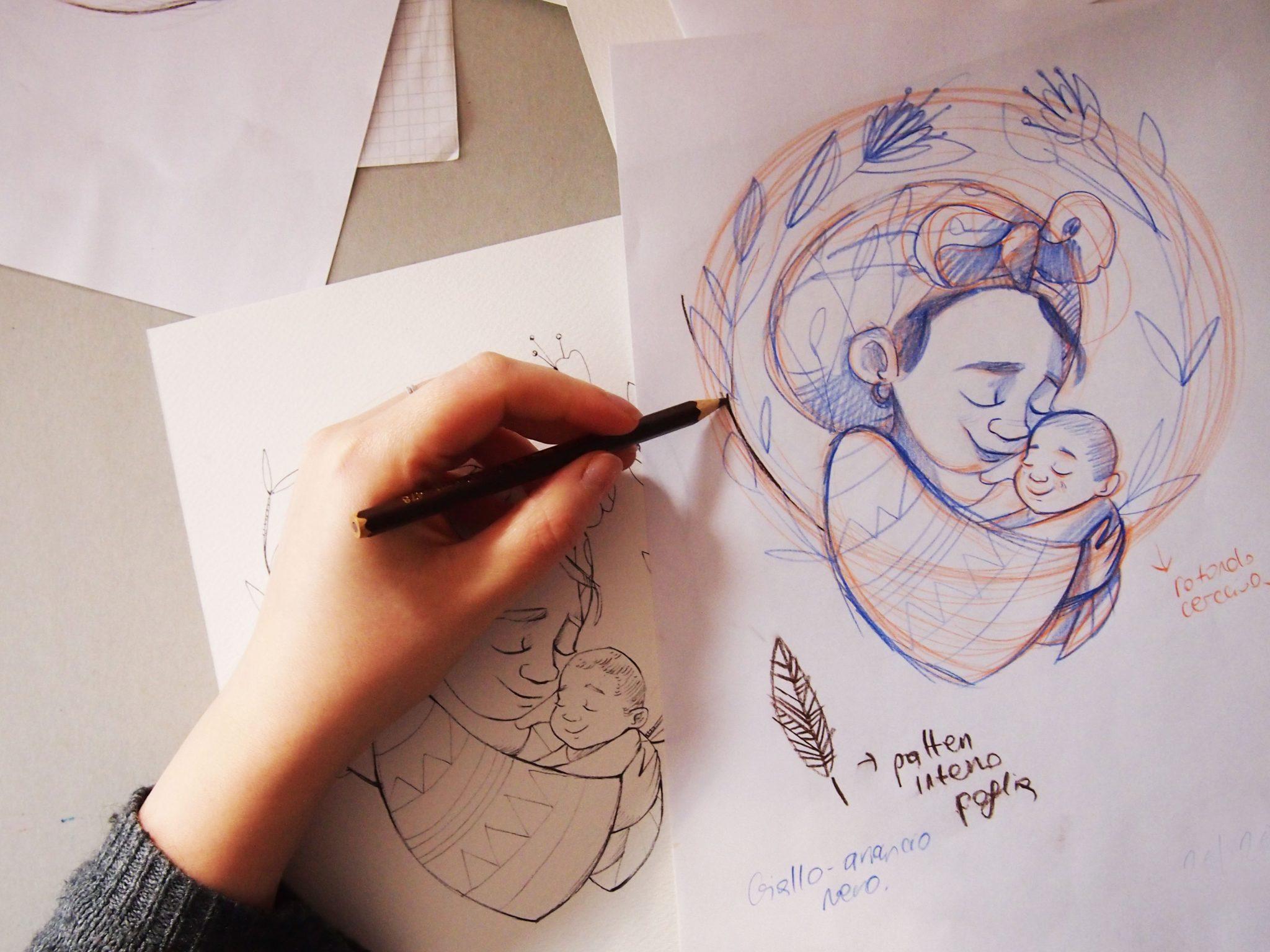 Ritratti illustrati, bozzetto, illustrazione, ritratto illustrato, ritratti