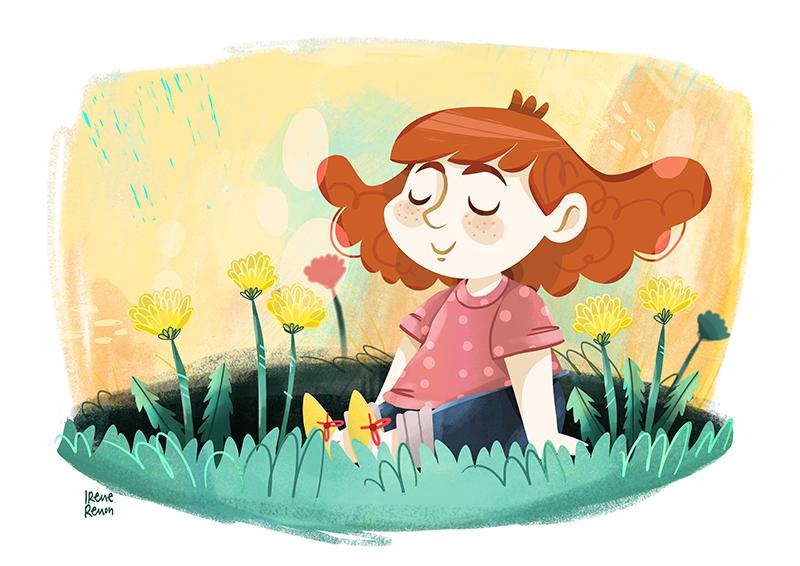 Illustrazione, disegni per bambini, disegni illustrati, illustrazioni per l'infanzia, irene renon