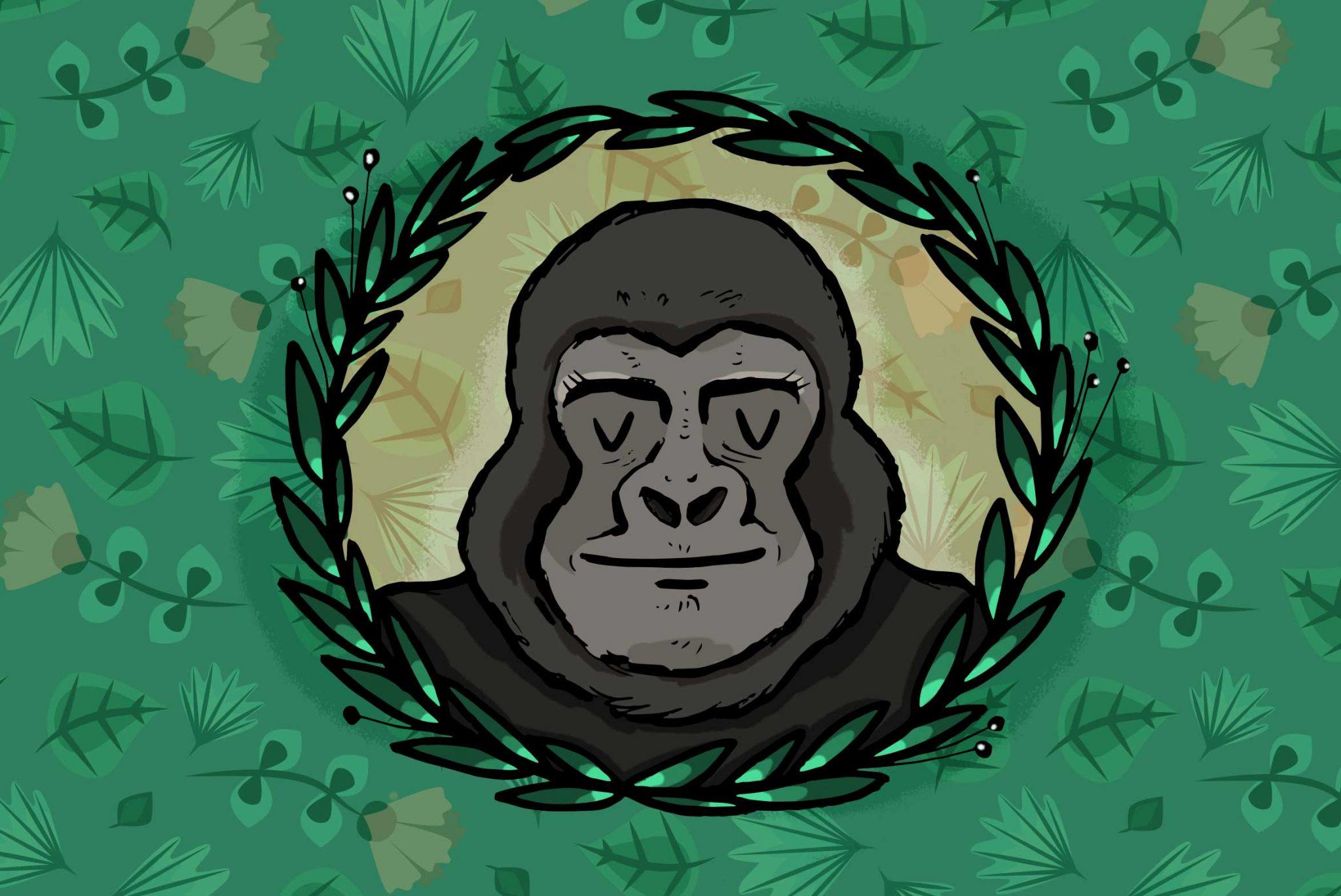 gorilla_di_montagna_illustrazione