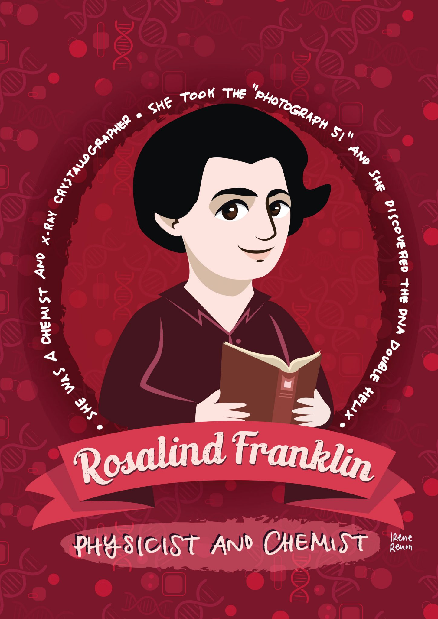 ROSALIND-FRANKLIN-DONNE-NELLA-SCIENZA-Women-in-science