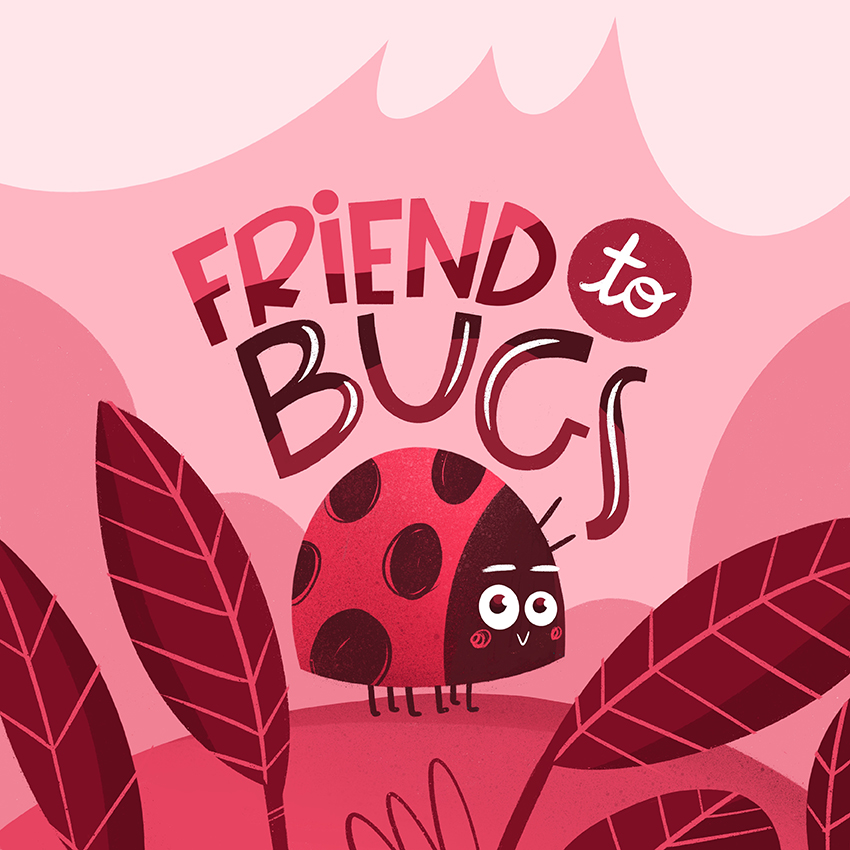 Friend to bugs, coccinella, ladybug