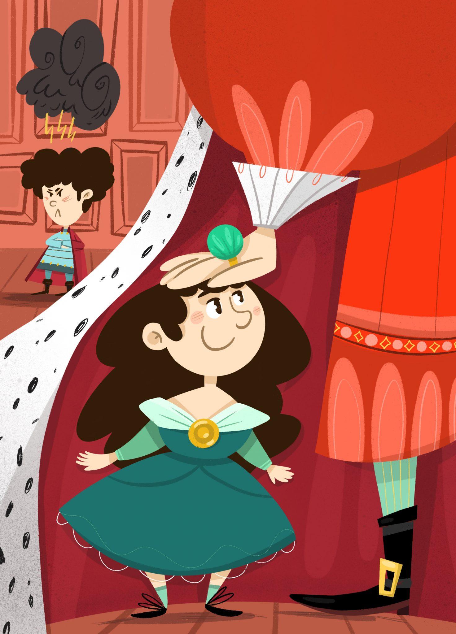 La princesa Esmerilda